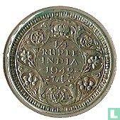 Brits-Indië ¼ rupee 1942