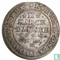 Denemarken 2 marck 1604