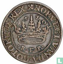 Dänemark ½ Krone 1620