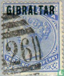 Opdruk GIBRALTAR
