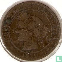France 10 centimes 1871 (A)