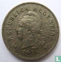 Argentinië 10 centavos 1914