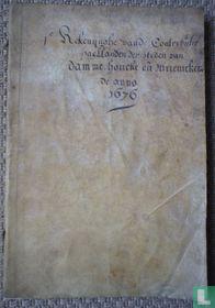 1e Rekenynghe van de Contributie paellanden der steden Damme, Houcke en Meunickenreede anno 1676