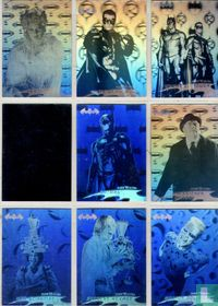 Complete set hologram. 36 cards