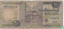 Egypte 20 Pounds  2001