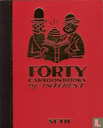 Forty Cartoonbooks of Interest