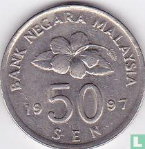 Maleisië 50 sen 1997