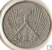 DDR 10 pfennig 1953 (E)