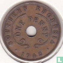 Zuid-Rhodesië 1 penny 1942 (brons)
