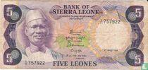 Sierra Leone 5 Leones 1984