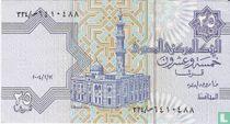 Egypte 25 Piastres 2004, 12 februari