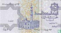 Egypte 25 Piastres 2004, 3 augustus