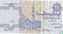 Egypte 25 Piastres 2004, 9 december