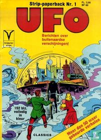 UFO strip-paperback 1
