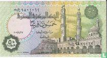 Egypte 50 Piastres 2007, 27 augustus