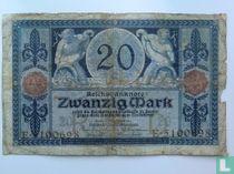 Germany 20 Mark 1913