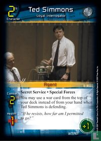 Ted Simmons - Loyal Interrogator