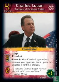 Charles Logan - President of the United States