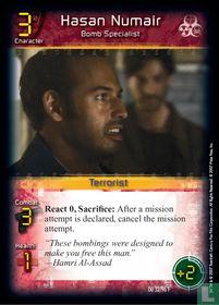 Hasan Numair - Bomb Specialist