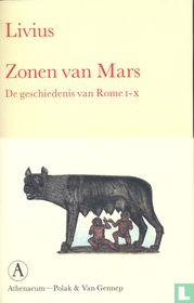 Zonen van Mars