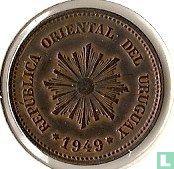 Uruguay 2 Centesimos 1949