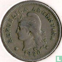 Argentinië 10 centavos 1920