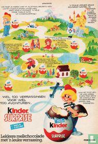 Knipsel advertentie 'Kinder Surprise'