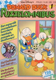 Donald Duck Puzzelparade 1 puzzelomnibus