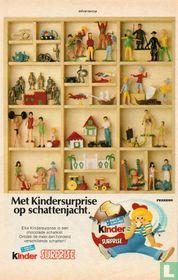 Knipsel advertentie 'Met Kindersurprise op schattenjacht'