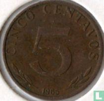 Bolivia 5 centavo 1965
