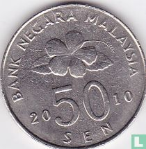 Maleisië 50 sen 2010