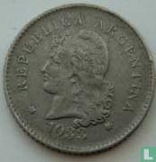 Argentinië 10 centavos 1933