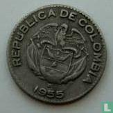Colombia 10 centavos 1955