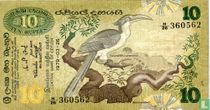 Sri Lanka 10 rupees 1979