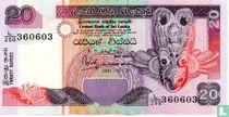 Sri Lanka 20 Rupees 2001