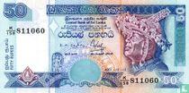 Sri Lanka 50 rupees 2001
