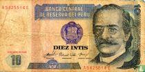 Peru 10 Intis 1985