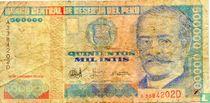 Peru 500000 Intis 1988