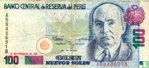 Peru 100 Nuevo Soles 1991