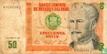 Peru 50 Intis  1986
