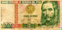 Peru 1000 Intis 1987