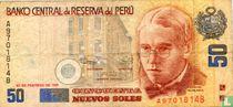 Peru 50 Nuevo Soles 1991
