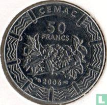 Centraal-Afrikaanse Staten 50 francs 2006
