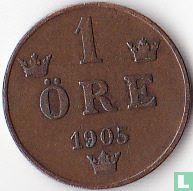 Zweden 1 öre 1905