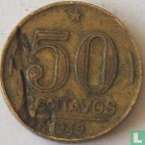 Brazilië 50 centavos 1949