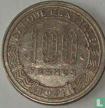 Congo-Brazzaville 100 francs 1971