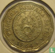 """Argentinië 25 pesos 1964 """"First National Coin"""""""