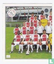 Ajax groepsfoto links