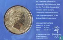 "Australië 5 dollars 2000 (coincard) ""Summer Olympics in Sydney - Canoe kayak"""