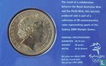 "Australië 5 dollars 2000 (coincard) ""Summer Olympics in Sydney - Aquatics"""